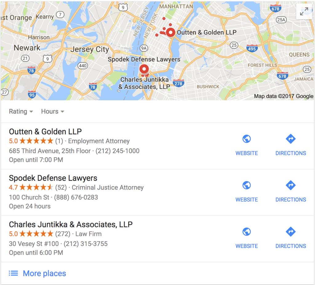 Google Maps Listings